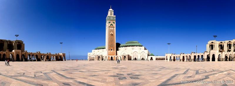Mesquita Hassan II, em Casablanca, Marrocos