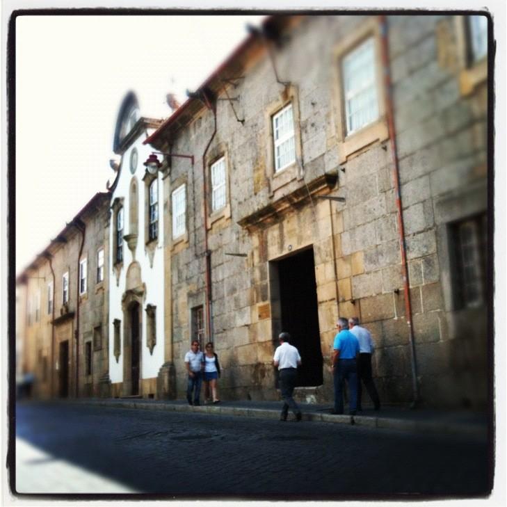 O antigo edifício do Paço Episcopal e Seminário da Guarda alberga hoje quer o Paço Cultural, quer o Museu da Guarda