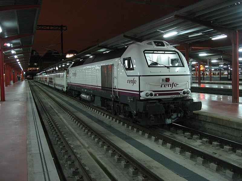 Lusitânia Comboio Hotel, na estação de Madrid - Chanmartin