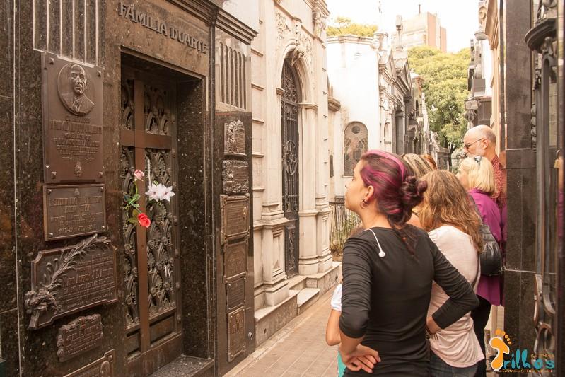 Cemitério de La Recoleta - Eva Peron