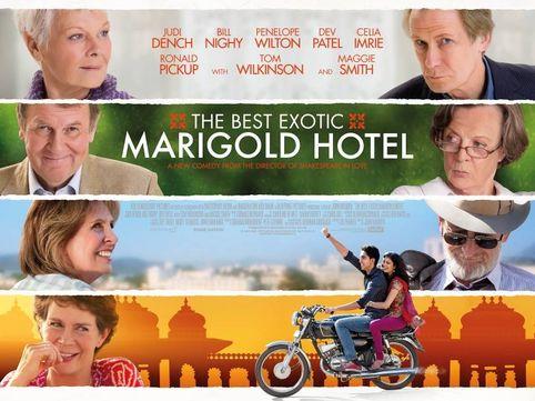 Marigold Hotel - Filmes a não perder sobre a Índia