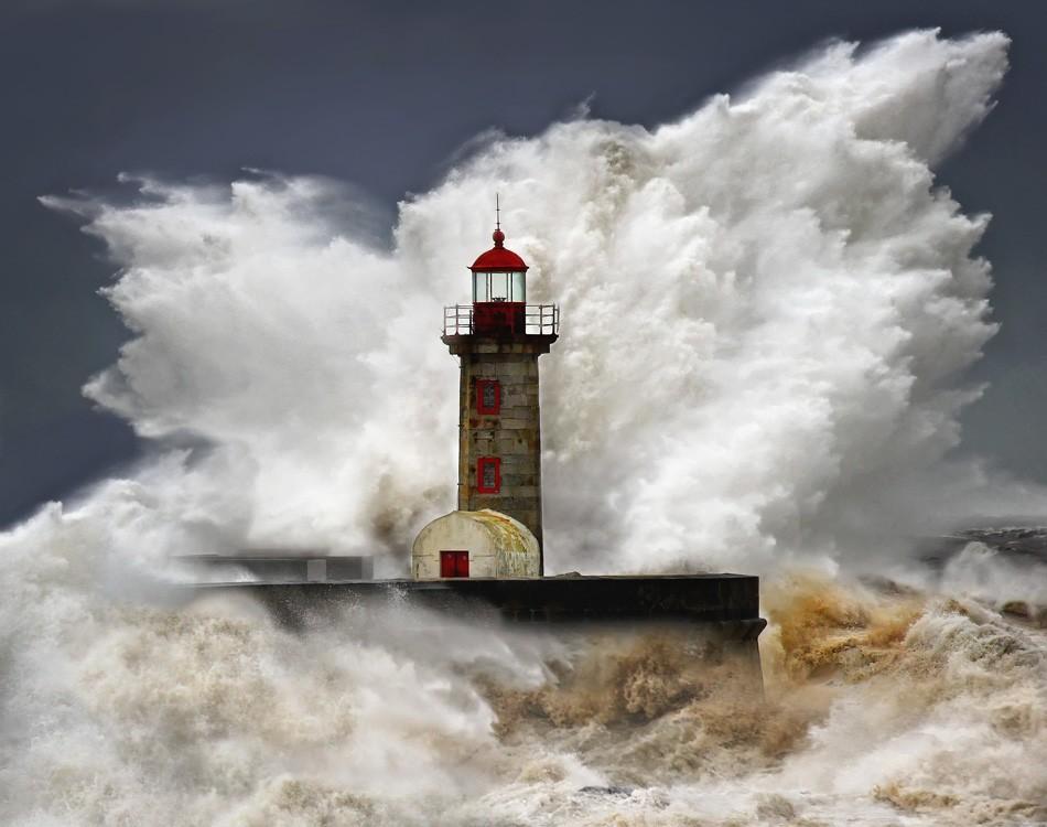 Veselin Malinov, fotos das ondas no Porto