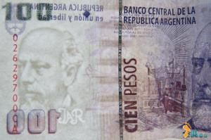Pesos argentinos - Marca d'água