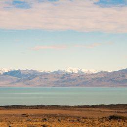As cores surreais do Lago Argentino
