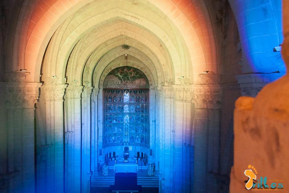 interior da catedral de salamanca