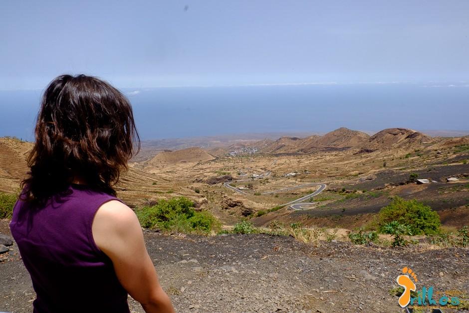Subida Para Chã das Caldeiras, Ilha do Fogo