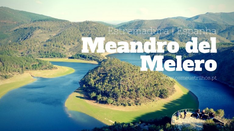 Meandro del Melero, as curvas do Rio Alagón